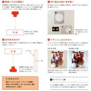 アナログ作品をデジタル化する方法